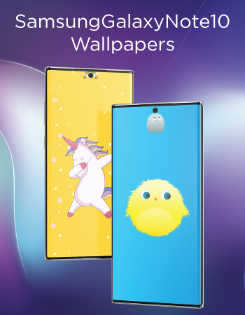 Note10 Unicorn HD Hole Punch Wallpaper